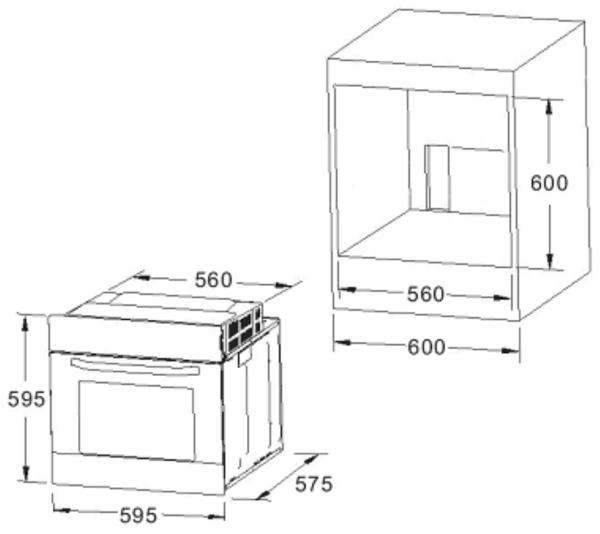 Встраиваемая духовка модель 30102 Куппер Куппер