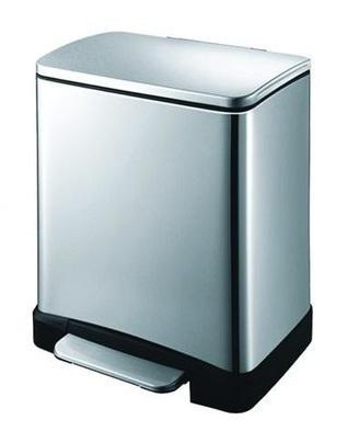 Урна для ванной 12 литров нержавеющая сталь - 94567 Shoni SHONY