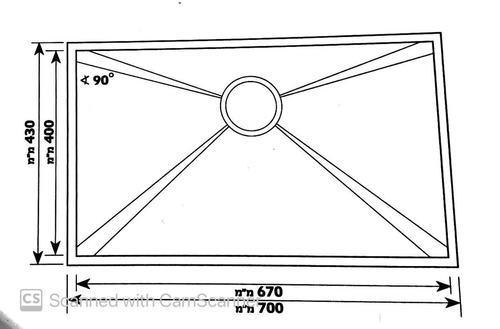 Мойка одинарная нержавеющая модель Muscat GD-7043F разная SHONY
