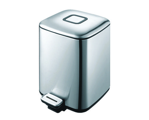 Урна для ванной из нержавеющей стали, 9 литров - 93456 Shoni SHONY