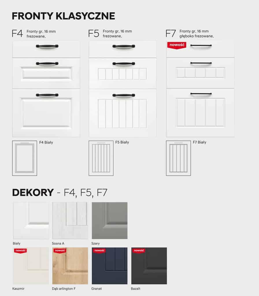 Встроенный шкаф 80 см KAMMONO F4F5F7