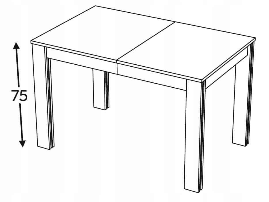 Столы раздвижные 90-135-180 KAMMONO