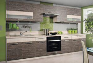 Кухонная мебель на размер со столешницей 260 см KD