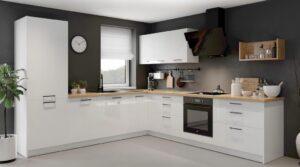 Современная кухонная мебель KAMMONO P4 set B