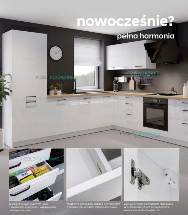 Шкаф настенный KamMono P4 W15-1-61 глянцевый белый