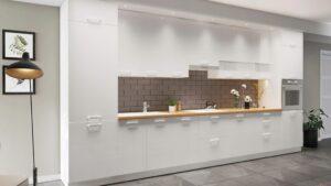 Современная кухонная мебель KAMMONO P4 set A