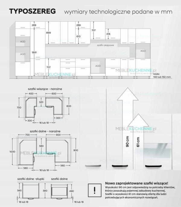 Шкаф настенный KamMono К2 W70-90 сосна андерсен