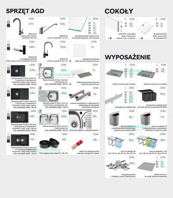 Фронт посудомоечной машины KamMono P4 FZMYW60 черный мат