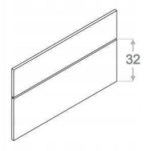 Профильная панель ZOBAL h53 см KAMDUO XL цена за 10 см