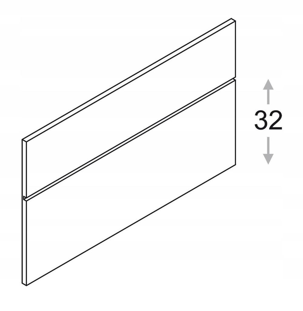 Панель h = 53,5 см с профилем ZOBAL Kamduo ML