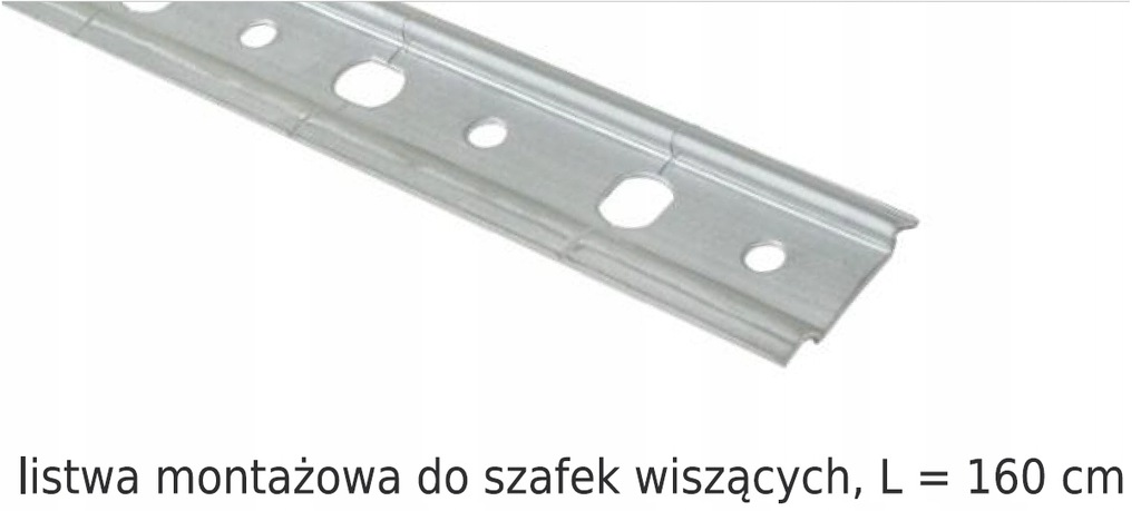 МОНТАЖНАЯ ПОЛОСА ДЛЯ ПОДВЕСНЫХ ШКАФОВ 160 см