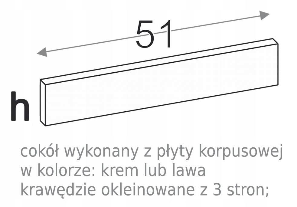ПАНЕЛЬ НИЖНЯЯ 15 см KAMDUO XL