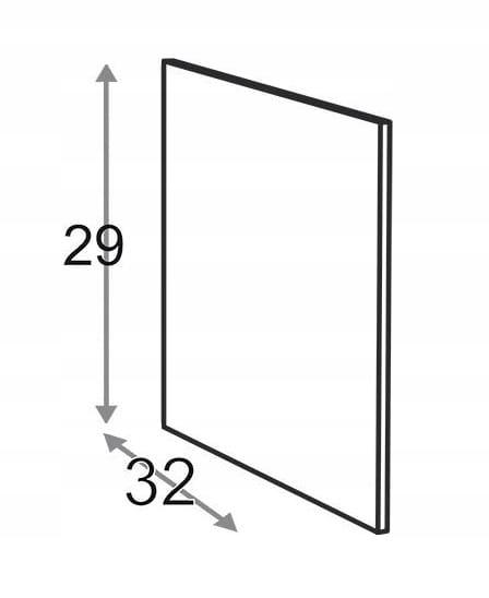 Сторона 29 см D = 32 см Kamduo ML