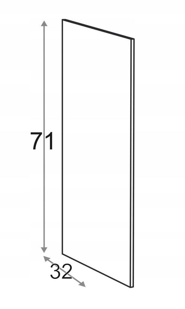 Сторона 71 см D = 32 см Kamduo ML