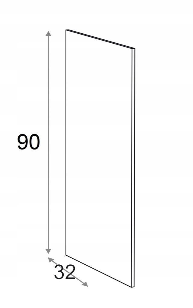 Накладка на подвесной шкаф КАММОНО 90 см
