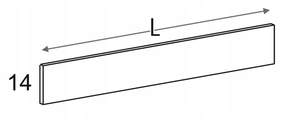 Панель стеновая до 200,5 см KD