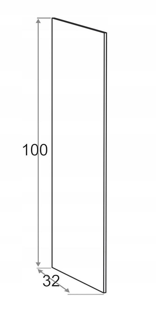 Накладная сторона 32 x 100 см KAMDUO XL