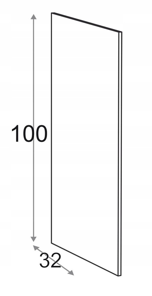 Сторона 100 см D = 32 см Kamduo ML