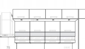 Панель освещения для шкафа KAMDUO XL 55 см