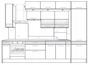 Панель освещения для шкафа Kamduo ML 60 см