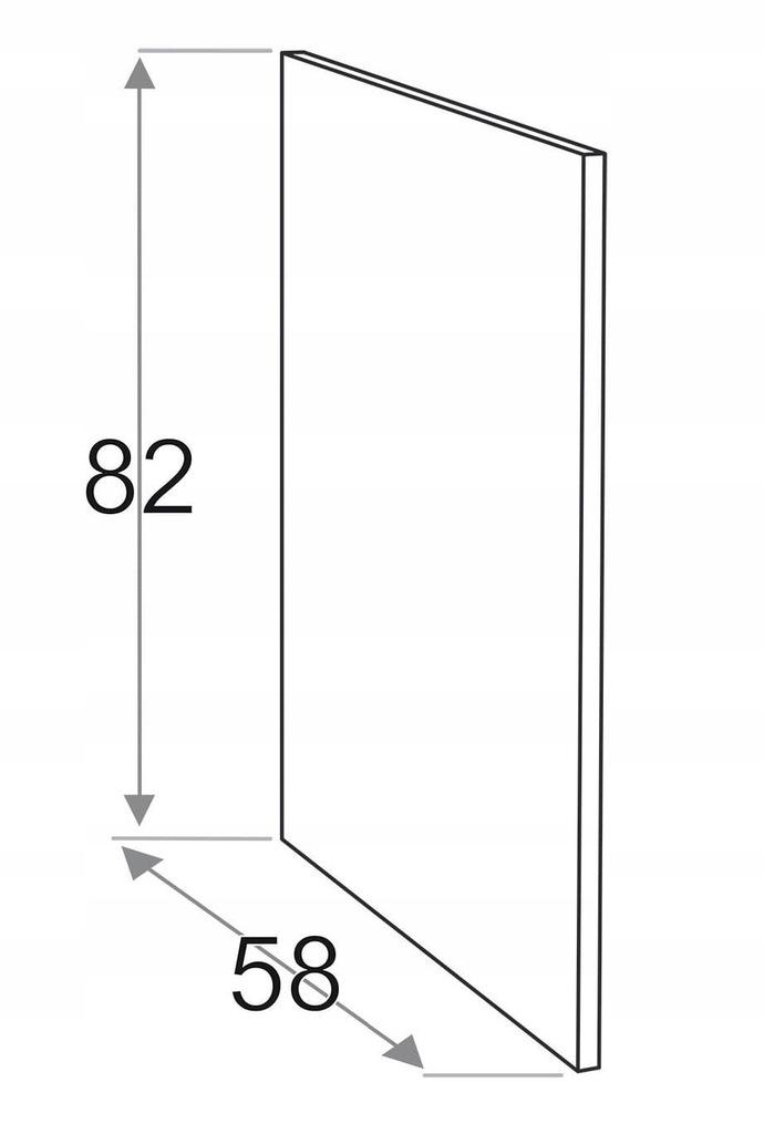 Накладная сторона 58 x 82 см KAMDUO XL