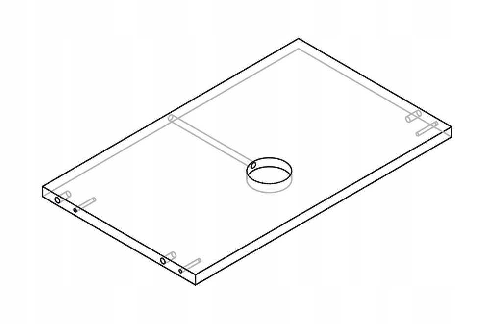 Осветительное кольцо для шкафа KAMDUO XL 90 см