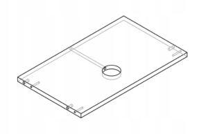 Осветительное кольцо для шкафа KAMDUO XL 80 см