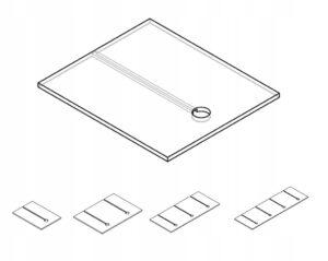 Панель освещения для шкафа KAMDUO XL 80 см