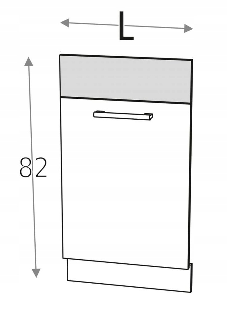 Посудомоечная машина передняя 45 см KD