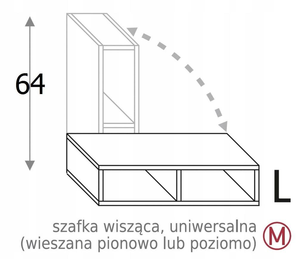 ОТКРЫТЫЙ ШКАФ 25 см OLIVIA SOFT
