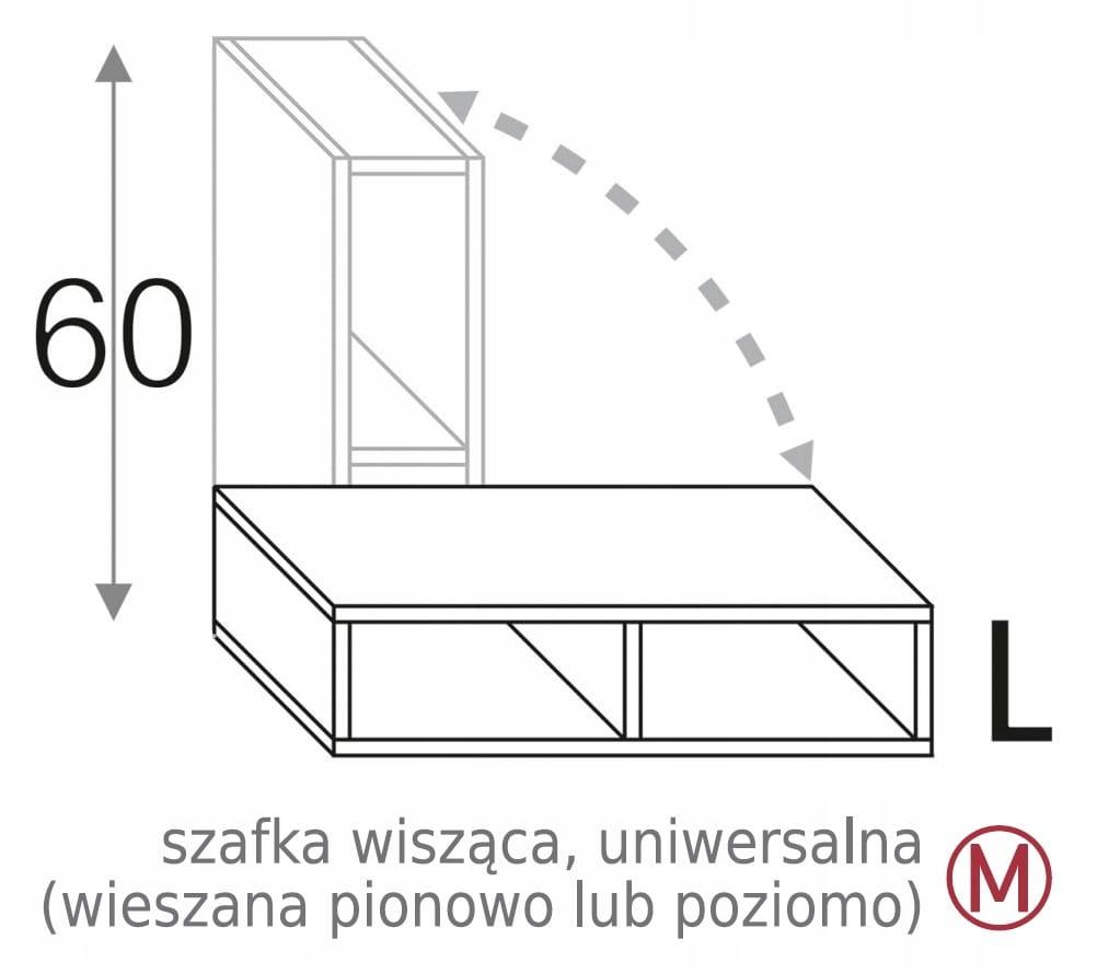 ОТКРЫТЫЙ ШКАФ 30 см OLIVIA SOFT