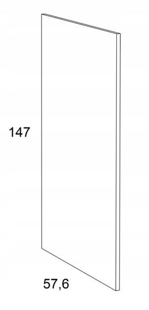 Накладка на нижний шкаф 147 см КАММОНО