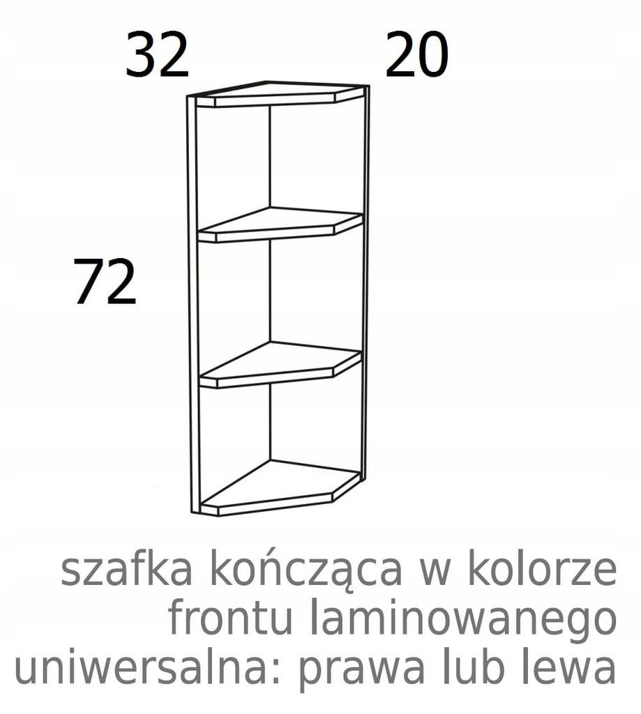ПОДВЕСНОЙ ШКАФ С ОТКРЫТЫМ КОНЦОМ KAMDUO XL