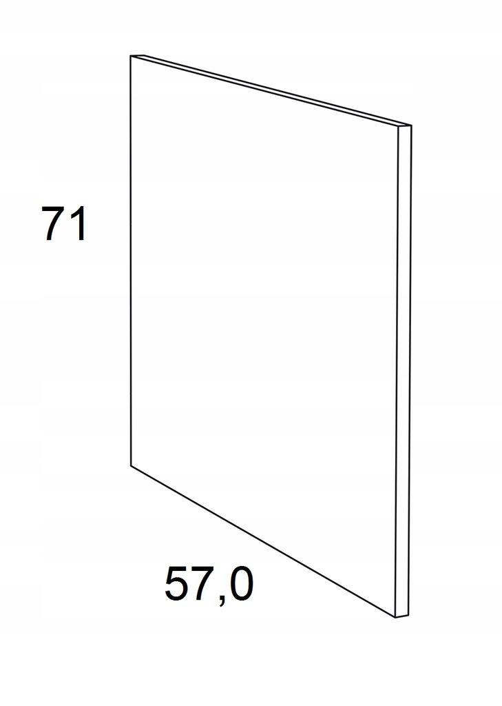 Накладка на нижний шкаф 71 см KAMMONO F6