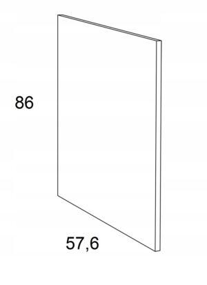 Накладка на нижний шкаф 86 см KAMMONO P4