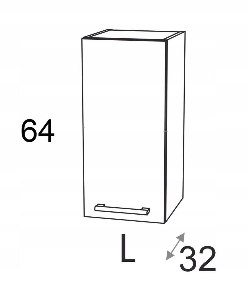 ШКАФ 1 ДВЕРНЫЙ 30 см KAMDUO XL