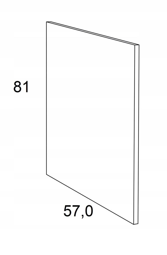 Накладка на нижний шкаф 81 см KAMMONO F6