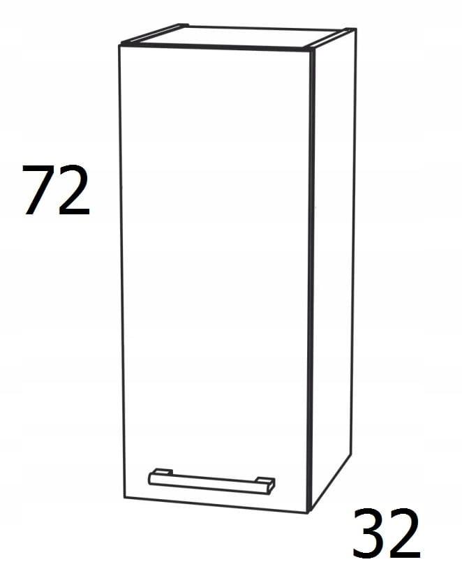 ШКАФ 1 - ДВЕРЬ 45 см KAMDUO XL