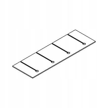 Панель освещения для шкафов Kamduo ML 210 см
