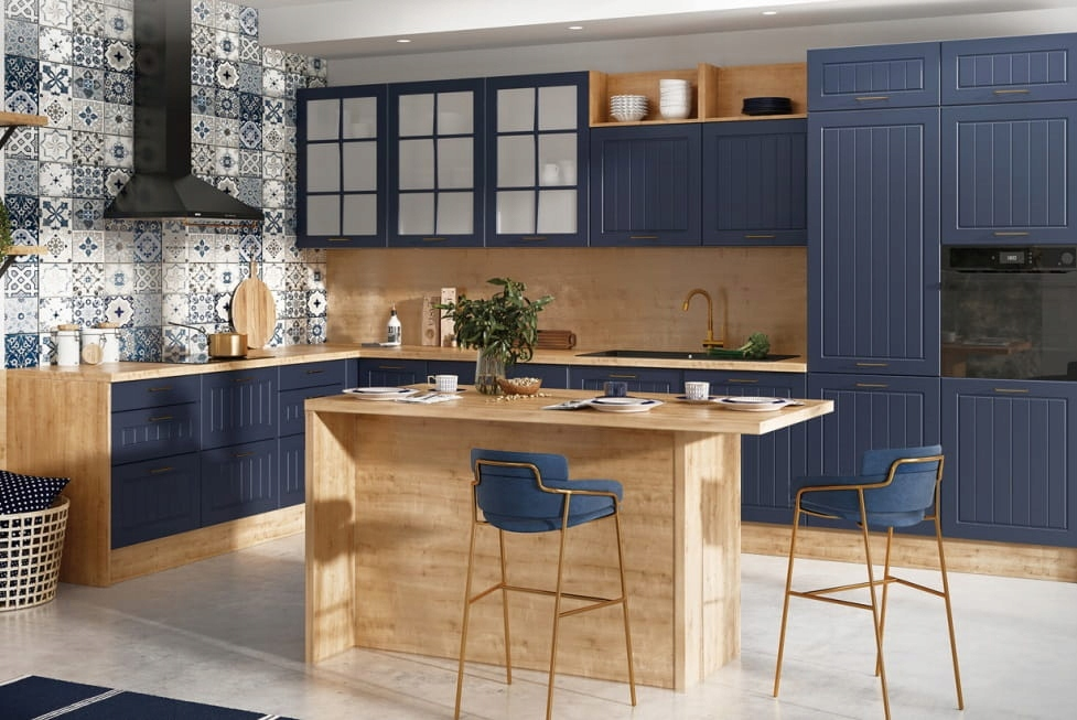 Шкаф кухонный нижний 1 дверный 35 см KAMMONO F4F5F7
