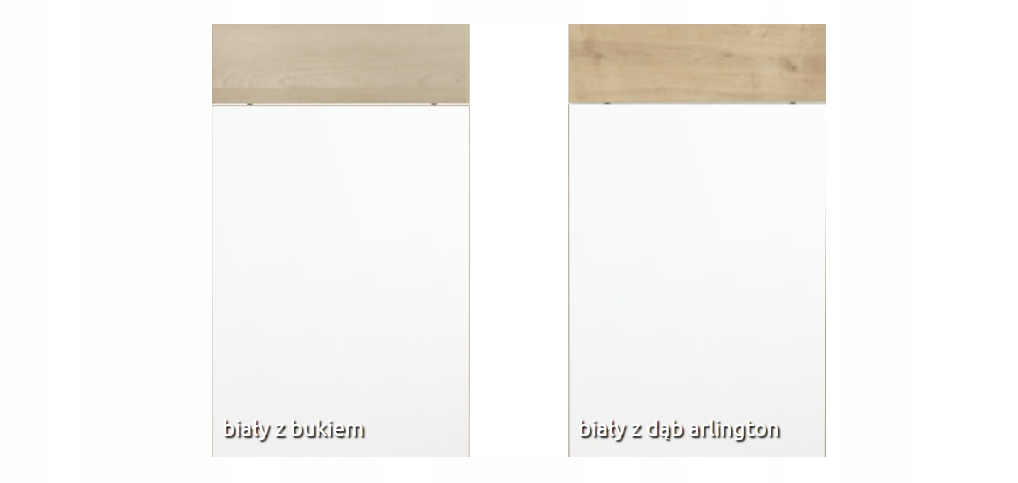Шкаф верхний 35 см с 1 дверцей, витрина Kamduo ML