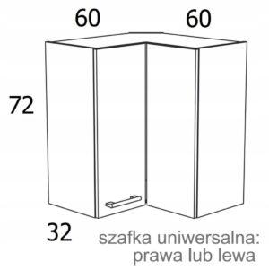 НАСТЕННЫЙ ШКАФ 60X60см KAMDUO XL