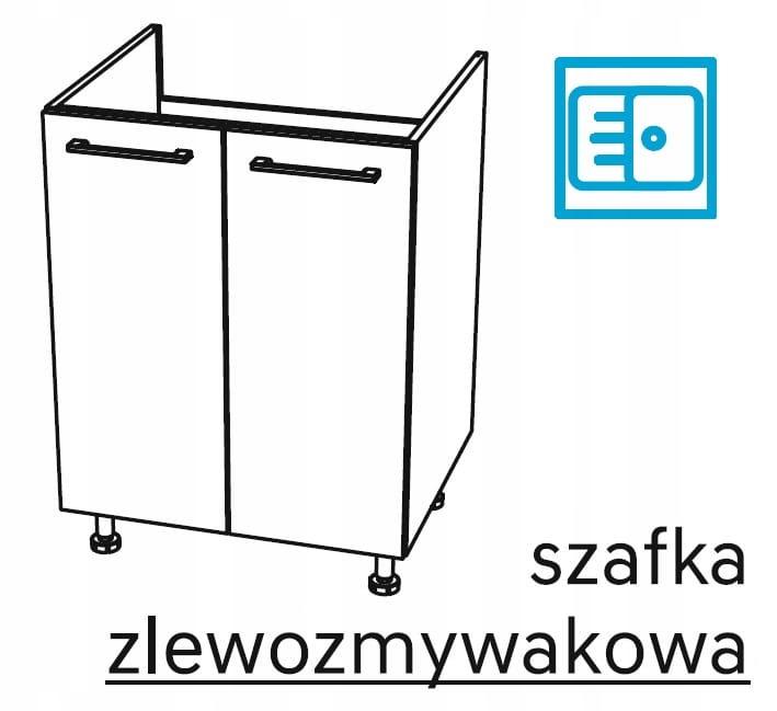 Мебель для умывальника 80 см, 2 дв. KAMMONO P4