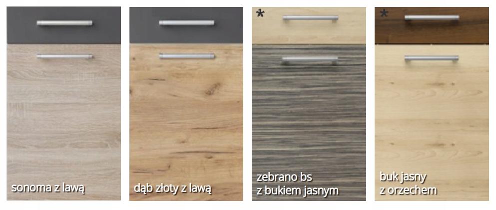 Шкаф нижний 60см с дверцей и ящиком КД + столешница