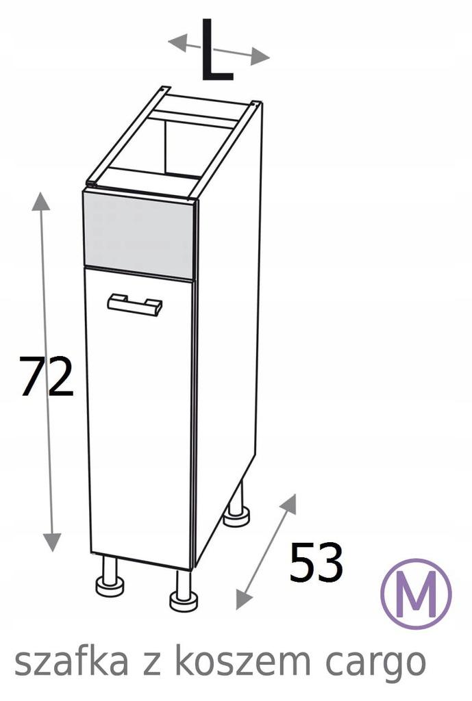 КУХОННЫЙ ШКАФ CARGO 30 см KAMDUO XL