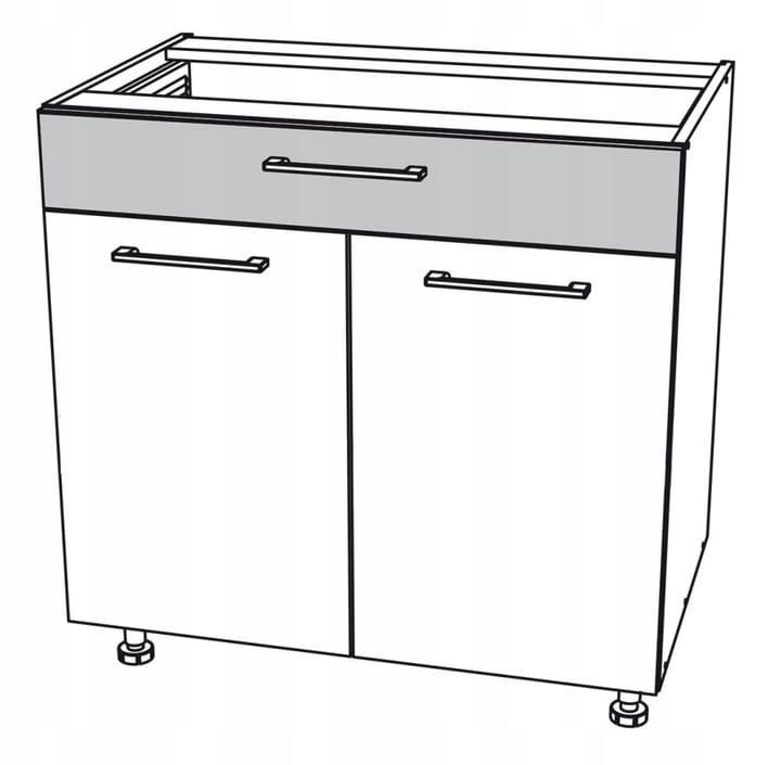 Нижний шкафчик 70 см с ящиком Kamduo ML