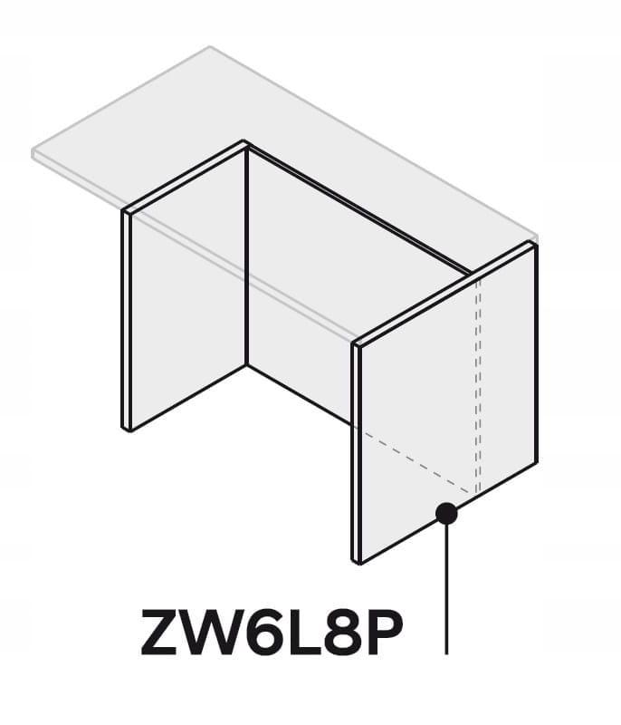 Кухонный островок 120 см ZW6L8P120 P2 без столешницы