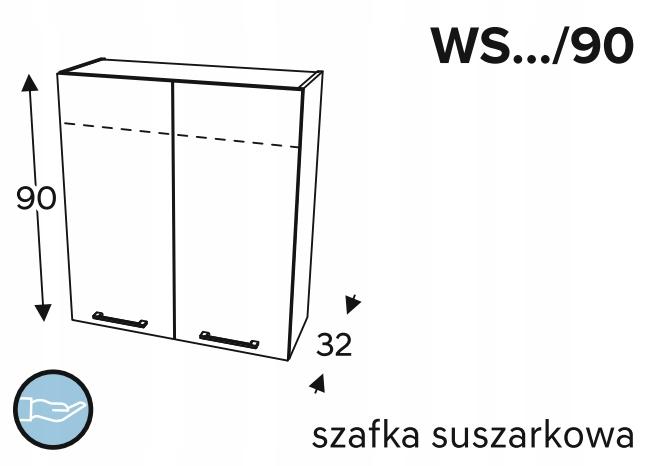 Подвесной сушильный шкаф, 60 см KAMMONO P4