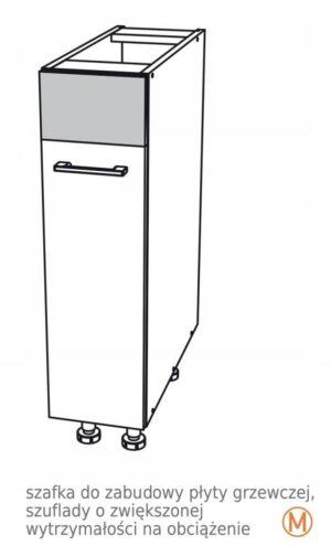 Нижний шкаф 30 см с грузовой корзиной Kamduo ML
