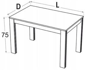 Кухонные столы 140 x 80 Kamduo ML